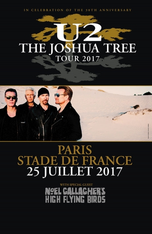 U2:BUS SEUL RENNES - STADE DE FRANCE-PARIS