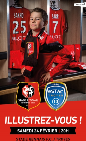 STADE RENNAIS FC / ESTAC TROYES - LIGUE 1 CONFORAMA - 27EME JOURNEE