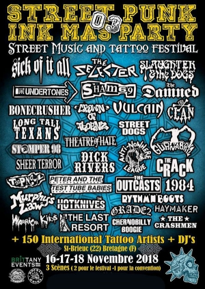 FESTIVAL STREET PUNK INK MAS PARTY - BILLET 1 JOUR