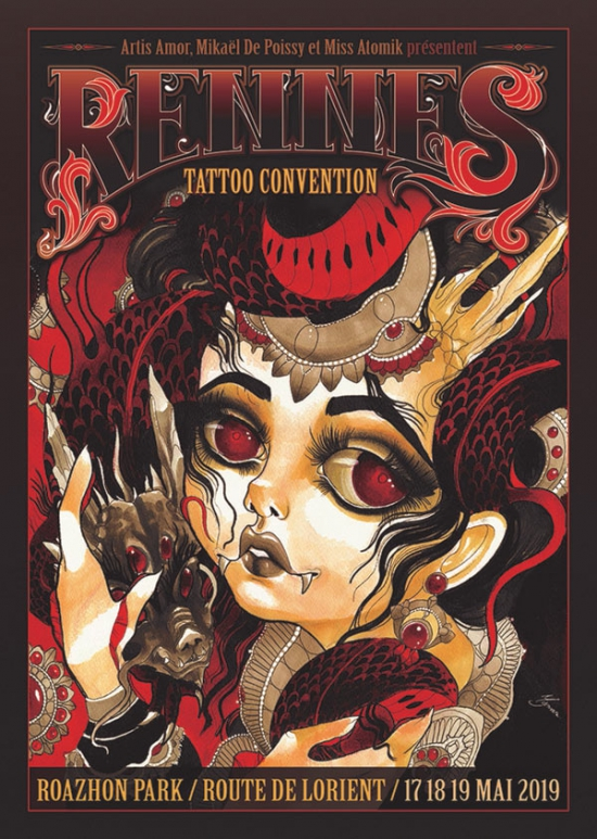RENNES TATTOO CONVENTION - BILLET WEEK-END
