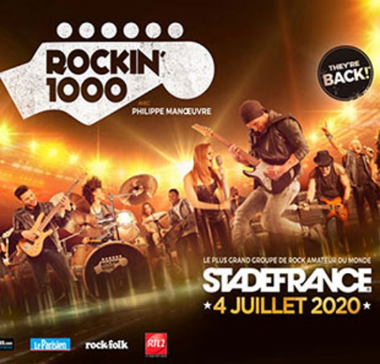 ROCKIN 1000 RENNES BUS + CARRE OR - STADE DE FRANCE