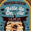 affiche FESTIVAL BELLE ILE ON AIR 8