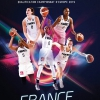affiche FRANCE / FINLANDE - BASKETBALL INTERNATIONAL FEMININ