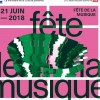 affiche Chantal Antoine, Dead Moments, Too Loud, Ateliers jazz, Kala May, Moon's Law, The Splicers - Fête de la Musique 2018