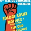 affiche FETE HUMANITE BZH - PASS 2 JOURS DU 01 AU 02/12/18