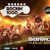 affiche ROCKIN 1000 RENNES BUS + CARRE OR - STADE DE FRANCE